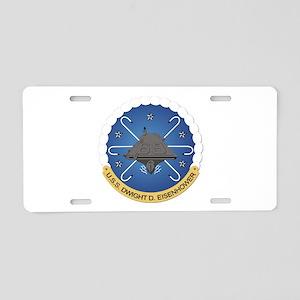 USS Dwight D Eisenhower CVN-69 Aluminum License Pl
