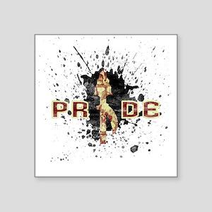 """Nole Pride Square Sticker 3"""" x 3"""""""