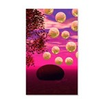 Burst of Joy, Abstract Magenta 20x12 Wall Decal