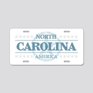 North Carolina Aluminum License Plate