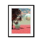Peach Fantasy Framed Panel Print