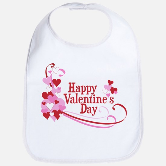 Happy Valentine's Day Bib