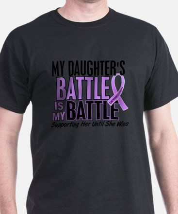 My Battle Too Hodgkin's Lymphoma T-Shirt