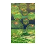 Spring Creation Abstract 3'x5' Area Rug
