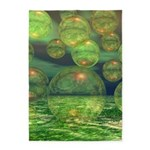 Spring Creation Abstract 5'x7'Area Rug