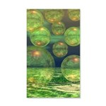 Spring Creation Abstract 35x21 Wall Decal