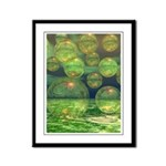 Spring Creation Abstract Framed Panel Print