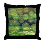 Spring Creation Abstract Throw Pillow