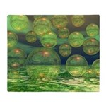 Spring Creation Abstract Throw Blanket