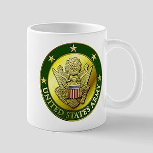 Army Green Logo Mug