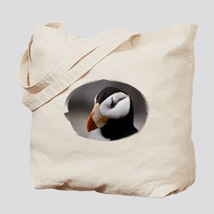Puffin Horned 9028 Tote Bag