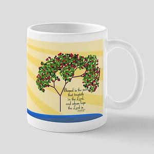 Jeremiah 17 7 Bible Verse Mug