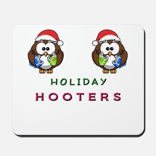 Holiday Hooters Mousepad