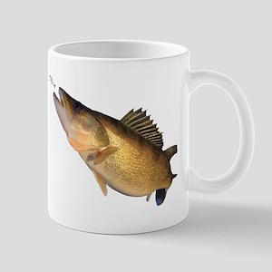 Walleye feeding Mugs