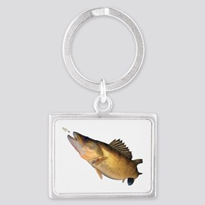 Walleye Feeding Keychains