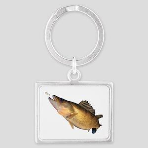 Walleye Feeding Keychains