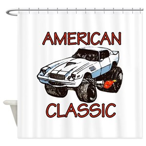 Cool Classic Car Shower Curtains