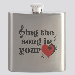 Music Lovers Quote Flask