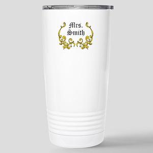 Personalized Surname Travel Mug