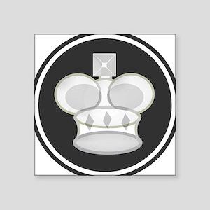 White King Chess Piece Sticker