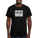 MM Logo Men's Fitted T-Shirt (dark)