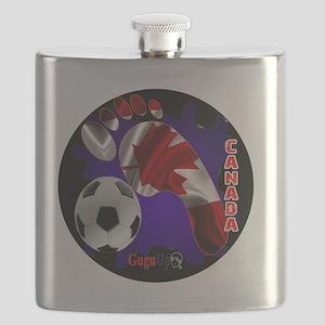 CANADA SOCCER CUSTOMIZABLE BRASIL 2014 Flask