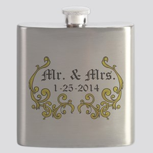 Mr. Mrs. Personalized dates Flask