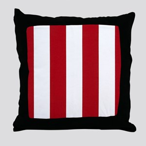 Bold Classic Red Throw Pillow
