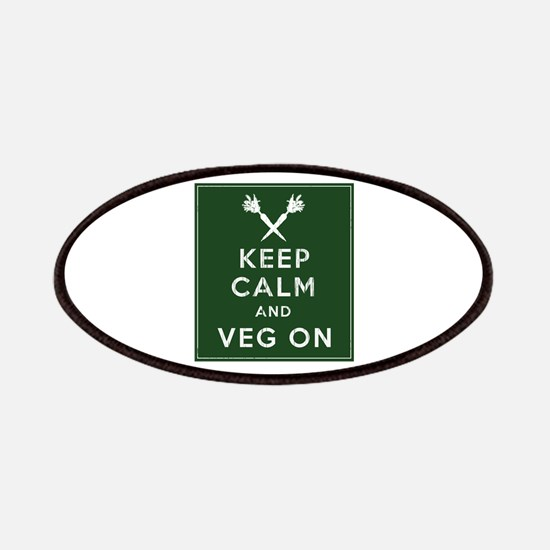 Keep Calm and Veg On Patches