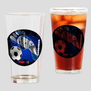 HONDURAS SOCCER CUSTOMIZABLE BRASIL Drinking Glass
