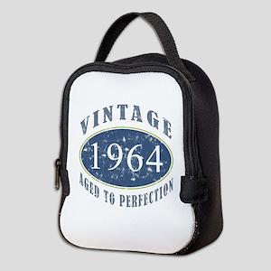 1964 Vintage (Blue) Neoprene Lunch Bag