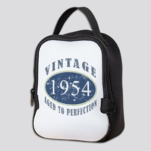 1954 Vintage (Blue) Neoprene Lunch Bag