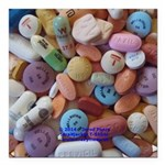 Pile of Pills Square Car Magnet 3