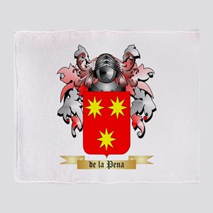 de la Pena Throw Blanket