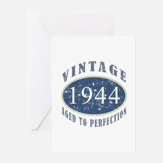 1944 Vintage (Blue) Greeting Card