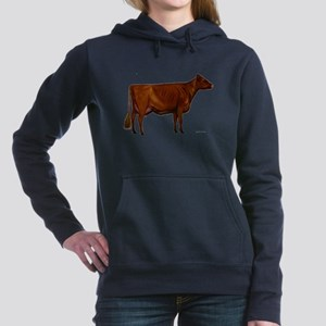 Milking Shorthorn Hooded Sweatshirt