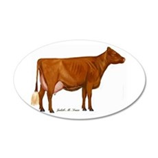 Milking Shorthorn Wall Decal