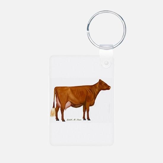 Milking Shorthorn Keychains