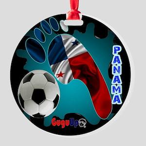 PANAMA SOCCER CUSTOMIZABLE BRASIL 2 Round Ornament