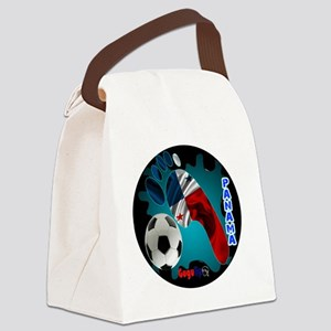 PANAMA SOCCER CUSTOMIZABLE BRASIL Canvas Lunch Bag