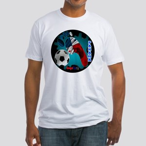 PANAMA SOCCER CUSTOMIZABLE BRASIL 2 Fitted T-Shirt