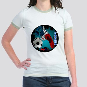 PANAMA SOCCER CUSTOMIZABLE BRAS Jr. Ringer T-Shirt