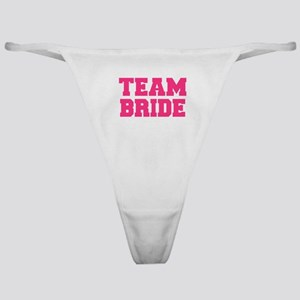 Team Bride Classic Thong