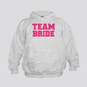 Team Bride Kids Hoodie