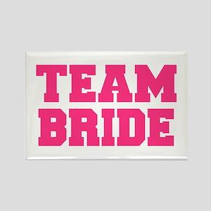 Team Bride Rectangle Magnet