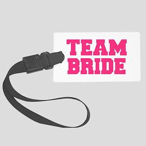 Team Bride Large Luggage Tag