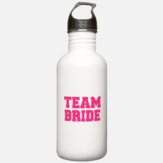 Team Bride Water Bottle