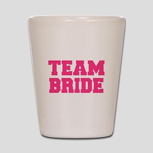 Team Bride Shot Glass
