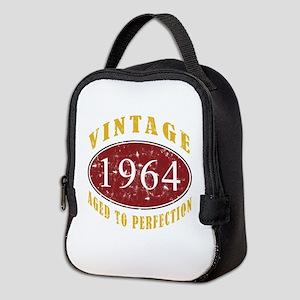 1964 Vintage (Red) Neoprene Lunch Bag