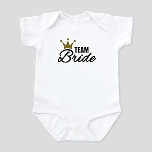 Team Bride crown Infant Bodysuit